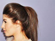 Volumized Ponytail Hair Tutorial