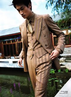 Camel Shades in Mens Vogue China - Design Scene - Fashion, Photography, Style & Design