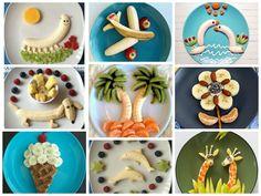 рецепты из бананов с фото для детей оформление детских блюд