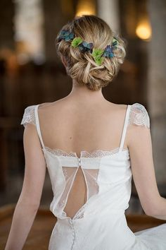 robe de mariée créateur Paris et Lyon - Roseline