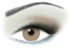 il trucco finale per chi ha gli occhi marroni