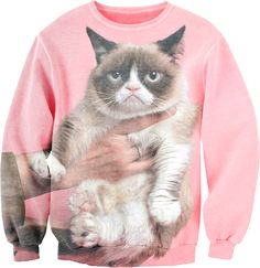 Grumpycat Sweatshirt—I AM OBSESSED. I need this more than anything everrrr