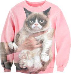Grumpycat Sweatshirt