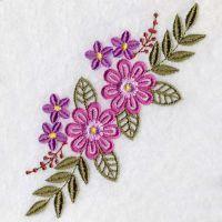 Floral Delight 2 - Sweet Heirloom Embroidery | OregonPatchWorks