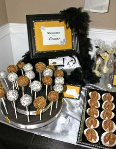 Hostess with the Mostess® - Oscar Party Sweets bar