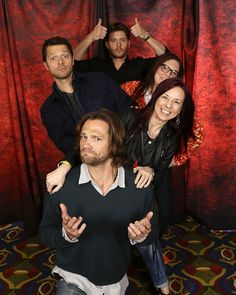NJCon2013--Photo Ops were very inventive at NJCon2013! (credit Cristina Giammarco, to the right of Jared)
