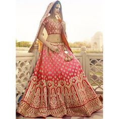 Exclusive Designer Bridal Lehenga - 01