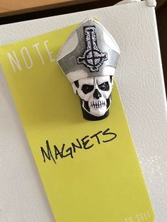 Ghost Papa Emeritus II head MAGNET by HaskellFX on Etsy