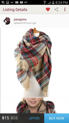 Need a scarf like this!!!