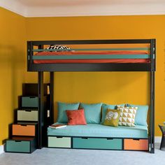 1000 Images About Loft Beds Adults On Pinterest Lit Mezzanine Mezzanine And Loft Beds
