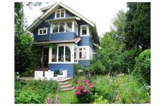 Vancouver mayors $1.95-million home up for sale Vancouver Real Estate, Shed, Outdoor Structures, Cabin, House Styles, Homes, Home Decor, Lean To Shed, Houses