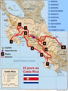 Map of costa rica central american countries costa rica map map of costa rica central american countries costa rica map history information world atlas travels pinterest costa rica vacation and cruises gumiabroncs Images