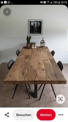 Living Room Decor, Living Spaces, Industrial Living, Industrial Interiors, Industrial Office, Industrial Table, Oak Dining Table, Home Inspection, Dining Room Design
