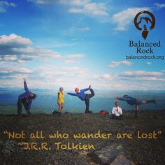 Strike a pose! Following your bliss is in vogue. #Wander #wild and #free! #wildyogis #inspire #mountainhigh