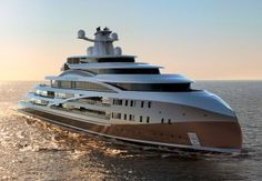 With the Project Sea Hawk superyacht concept, the London-based design firm Hawk Yachts aims to create a superyacht that is not only big in size, but substance as well. The yacht concept has been engineered as a true luxury expedition craft—equall Yacht Design, Boat Design, Sky Design, Super Yachts, Yachting Club, Bateau Yacht, Monaco Yacht Show, Private Yacht, Yacht Interior