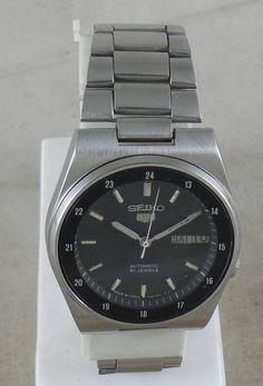 c8a309766ec Original VINTAGE SEIKO 5 Automatic 21J Japan 7S26-3160 Running Watch  D D 3 w2408