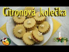 Citronová kolečka - YouTube Muffin, Make It Yourself, Cookies, Breakfast, Facebook, Desserts, Youtube, Food, Lemon