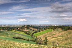 Pianura Padana - Albinea (RE) Italia  Pianure Italiane  #TuscanyAgriturismoGiratola