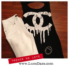 Shop the look at www.luxedaze.com