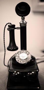 Edwardian telephone