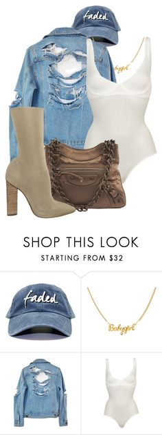 """""""faded"""" by alice01 on Polyvore featuring High Heels Suicide, Wolford, Balenciaga and YEEZY Season 2"""