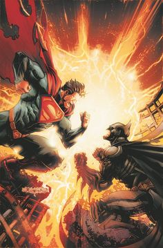 Injustice Gods Among Us #2 Colors by Raapack.deviantart.com on @deviantART
