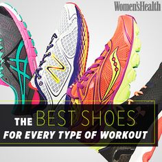 The Best Shoes for Every Type of Workout: http://www.womenshealthmag.com/fitness/best-workout-shoes-for-women?cm_mmc=Pinterest-_-womenshealth-_-content-style-_-shoesforeveryworkout