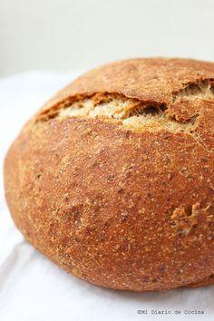 Si desea un pan saludable, riquísimo y sencillo de hacer, no dejen de ver esta super receta.