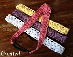 Crocheted Headband #diy #crafts