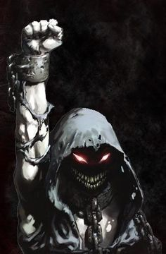 """""""The Guy"""", the mascot of the band, Disturbed"""