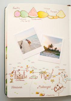 joojoo: Travel journal, Cuba