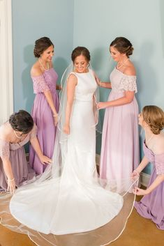eleglant bridal and bridesmaid in lavernder for spring and fall wedding Bridesmaid Dresses, Prom Dresses, Formal Dresses, Wedding Dresses, Fall Wedding, Wedding Ideas, Girls Dresses, Flower Girl Dresses, Spring And Fall