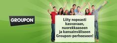 Tutustu millainen työnantaja Groupon on!