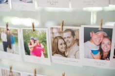 Polaroid Escort Cards