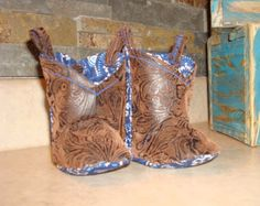 Infant / Baby Cowgirl boots for your Baby Girl by RusticAttitude