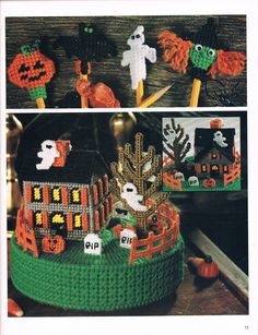 HALLOWEEN PENCIL TOPPERS by LINDA SMITH **AND** HALLOWEEN MUSIC BOX by KAREN McDANEL 1/3