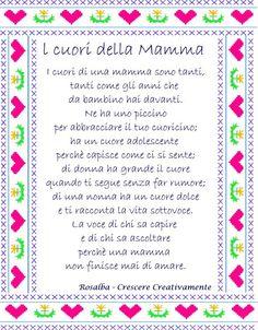 Poesia: I cuori della mamma