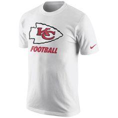 new styles 7dcca e0465 Kansas City Chiefs Nike Facility T-Shirt - White