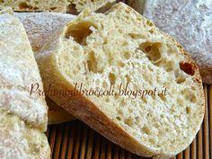 Profumo di broccoli: Pane morbido al latte e miele di tiglio