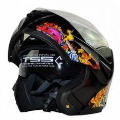5815ae20f92cd DOT Approved ILM Motorcycle Helmet with Inner Sun Visor Flip Up Safety  Double Lens Dual Visor Racing Motocross Dirt Bike Helmet