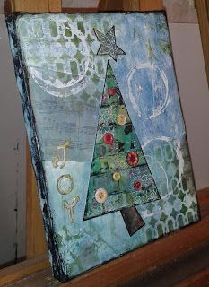 Art With Katie: Christmas Trees