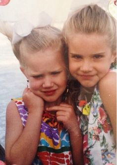 Lana and little sister Chuck  #LDR #Lizzy_Grant #Chuck_Grant
