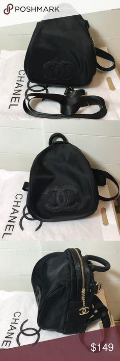 Chanel Vip Gift backpack cross body bag New Black Chanel Vip Gift backpack cross body bag New Black CHANEL Bags Backpacks