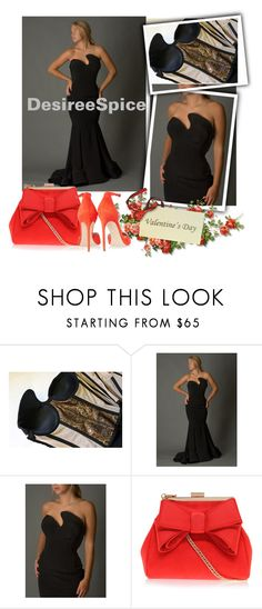 DESPIREE SPICE-Black Formal Gown by fahreta1992 on Polyvore featuring Brian Atwood, Miss KG, women's clothing, women's fashion, women, female, woman, misses and juniors