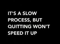 Always keep striving