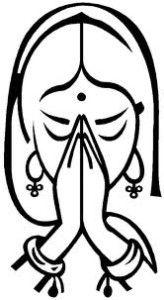 Hindu wedding symbols indicate our dedication towards our religion.It is good practice to use the Hindu wedding symbols in the special occasions like Wedding. Yoga Mudra, Kundalini Yoga, Namaste Images, Wedding Symbols, Les Chakras, Hindu Art, Rangoli Designs, Light Painting, Block Painting