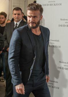 David Beckham costume style casual chic