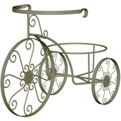 Panacea Whimsical Plant Stand Tricycle - Plant Stands at Hayneedle