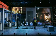 stop.reset. Signature Theater. Scenic design by Neil Patel.