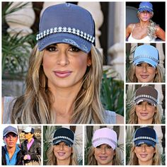 GIVEAWAY! Bling Trucker hat seen on Alexis Bellino and Teresa Guidice. Enter HERE: http://www.bigblondehair.com/real-housewives/rhoc/giveaway-glitzy-bella-trucker-hat-seen-on-teresa-giudice-alexis-bellino/
